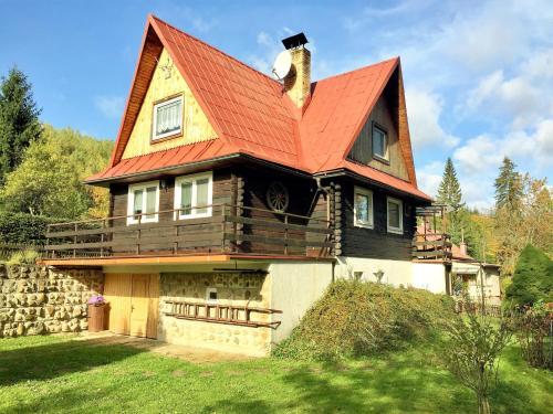 Chata Fortuna - Accommodation - Dolní Lomná