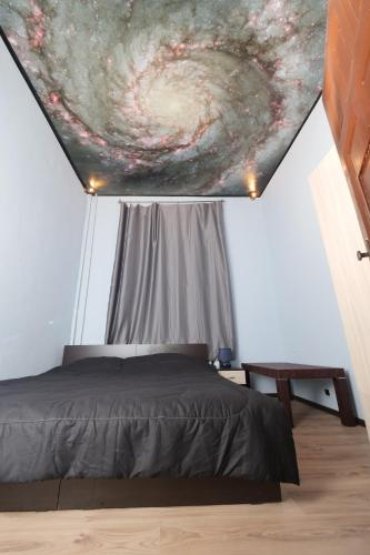 TOP center - very comfortable private room