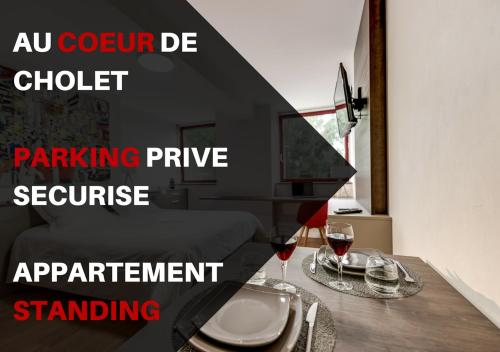 . Appartement Centre Cholet