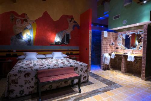 Habitación Doble - 1 o 2 camas - Uso individual Hotel SPA Bodega El Lagar de Isilla 3