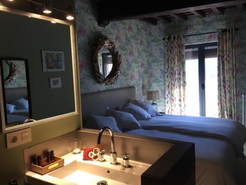 Deluxe Double Room with Terrace - single occupancy De Aldaca Rural 11