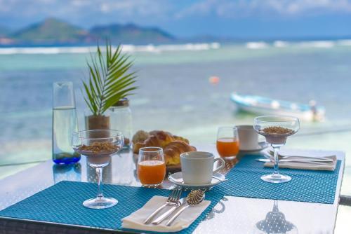 La Passe, La Digue, Seychelles.