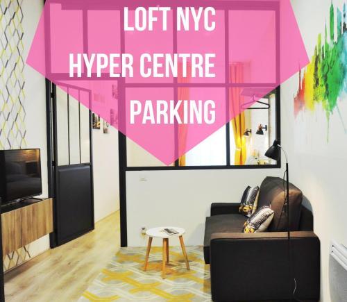 . Loft NYC, Hyper centre, Parking