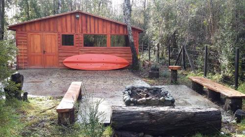 Cabaña En El Lago Maihue