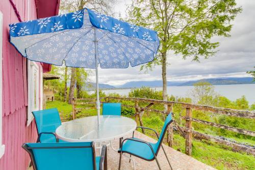 . Cabaña frente al Lago Puyehue
