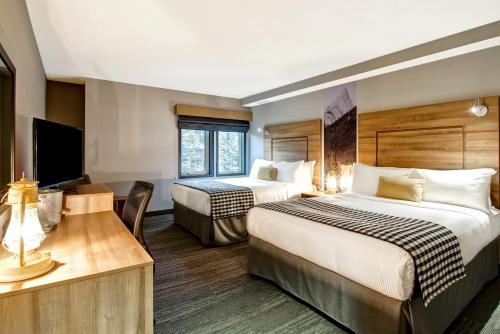 Queen Room with Two Queen Beds and Kitchen