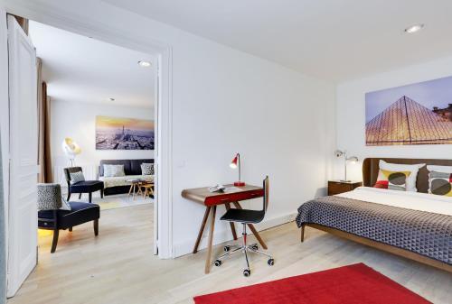 Apartments Paris Centre - At Home Hotel photo 70