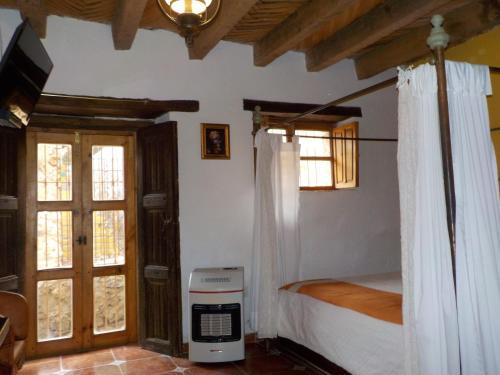 Hotel Shantiniketan 房间的照片