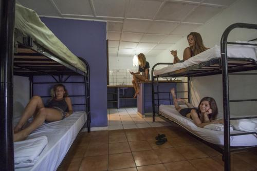 Single Bed in Female Dormitory Room with Private Bathroom