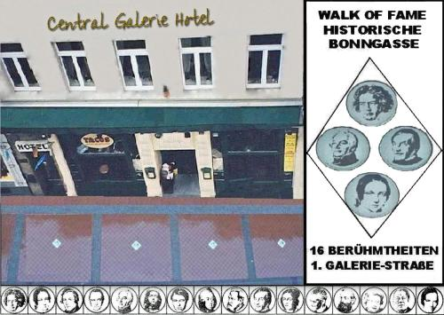 Central Galerie Hotel Am Beethoven Haus Bonn in Germany