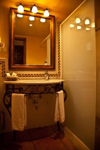 Doppel-/Zweibettzimmer mit eigener Terrasse Cigarral de Caravantes 68