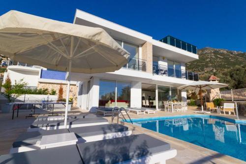 Kalkan Villa Nergis online rezervasyon