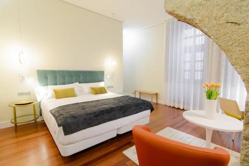 Habitación Doble Superior con cama grande Pazo de Mendoza 14