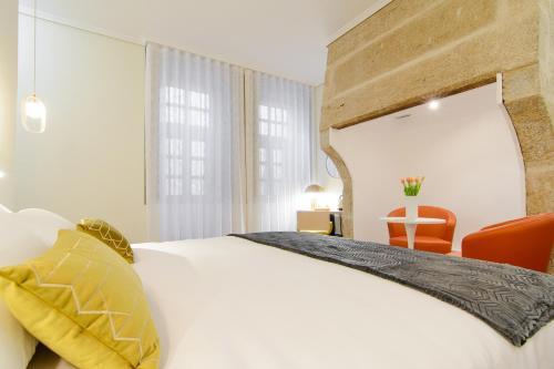 Habitación Doble Superior con cama grande Pazo de Mendoza 17