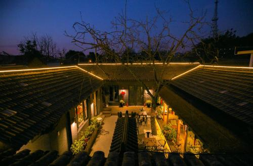Walnut Tree Courtyard Peking impression