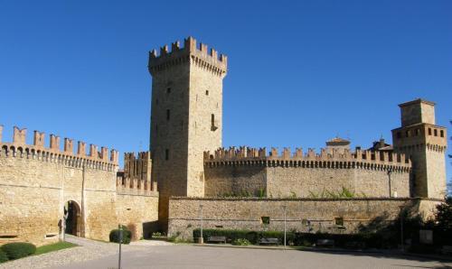 Kasteel-overnachting met je hond in Castello Di Vigoleno - Vigoleno