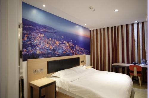 . Thank Inn Chain Hotel Jiangxi Ganzhou Zhanggong Dis. Railway Station