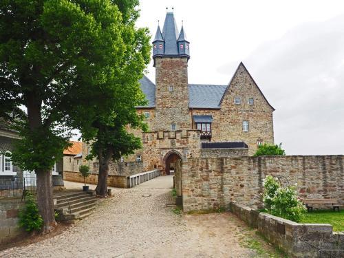 Kasteel-overnachting met je hond in Schloss Spangenberg - Spangenberg