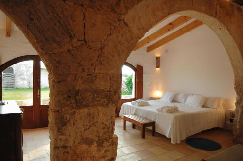Double or Twin Room with Terrace Alcaufar Vell Hotel Rural & Restaurant 9