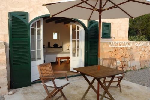Habitación Doble con terraza - 1 o 2 camas Alcaufar Vell Hotel Rural & Restaurant 11