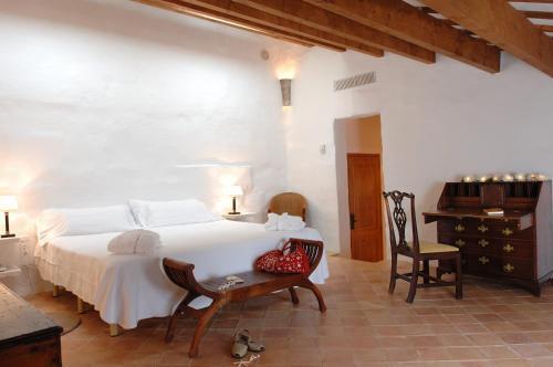 Habitación Doble - 1 o 2 camas Alcaufar Vell Hotel Rural & Restaurant 12
