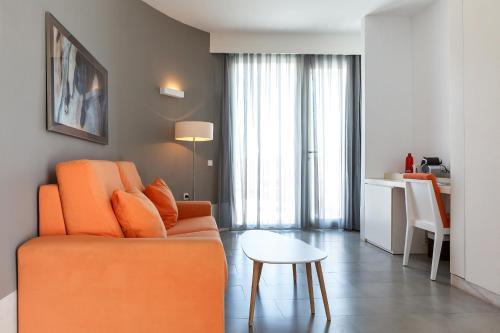 Suite Junior con vistas al mar Hotel Spa Calagrande Cabo de Gata 1