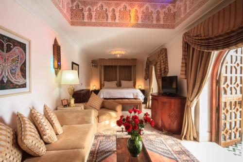 Palais Dar Donab 房间的照片