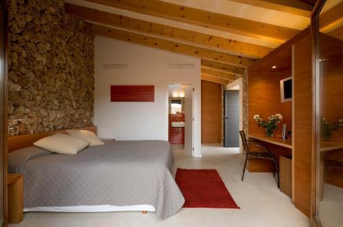 Doppel-/Zweibettzimmer mit eigener Terrasse Sant Joan de Binissaida 2