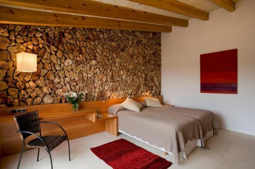 Doppel-/Zweibettzimmer mit eigener Terrasse Sant Joan de Binissaida 1