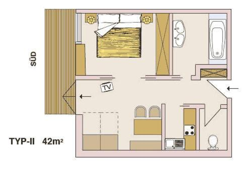 Appartementhaus Holiday - Apartment - Lech