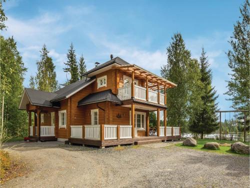 Holiday Home SF-516 70 Nykälä with Fireplace 09