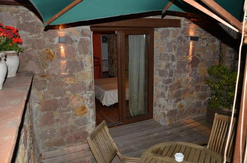 Habitación Doble Superior con terraza Hotel Galena Mas Comangau 87