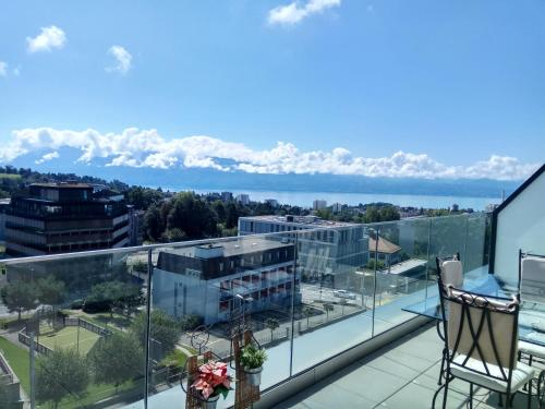 Swissart | Lake View, Pension in Lausanne