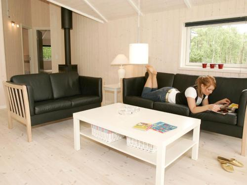 Four-Bedroom Holiday home in Hadsund 10 in Odde