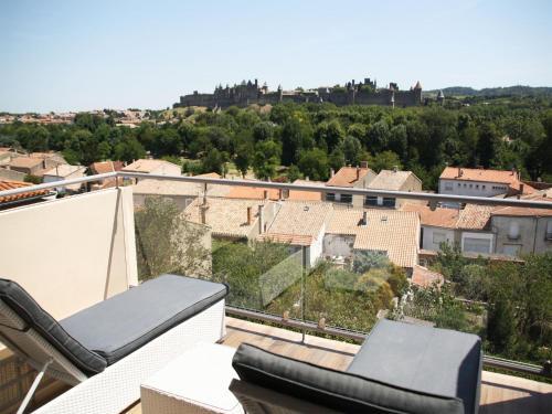Les Suites du Saint Nazaire - Les Balcons de la Cité - Location saisonnière - Carcassonne