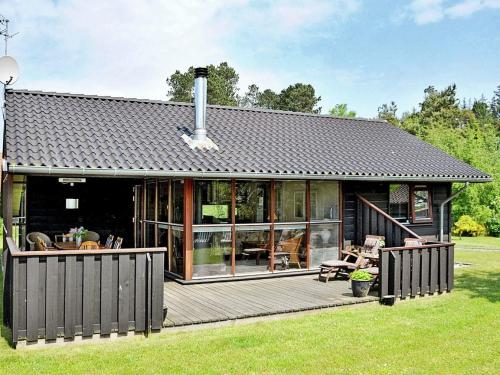 Three-Bedroom Holiday home in Knebel 27 in Knebel
