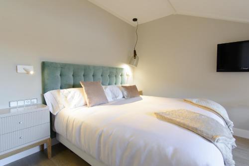 Habitación Doble Estándar con cama grande Pazo de Mendoza 6
