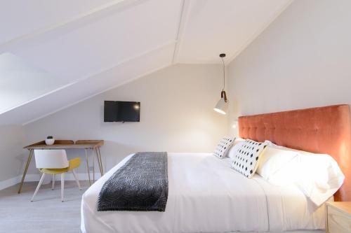 Habitación Doble Estándar con cama grande Pazo de Mendoza 8