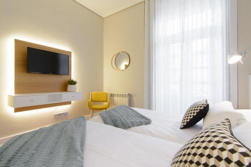 Habitación Doble Estándar - 2 camas  Pazo de Mendoza 5