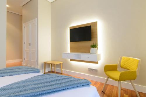 Habitación Doble Estándar - 2 camas  Pazo de Mendoza 6