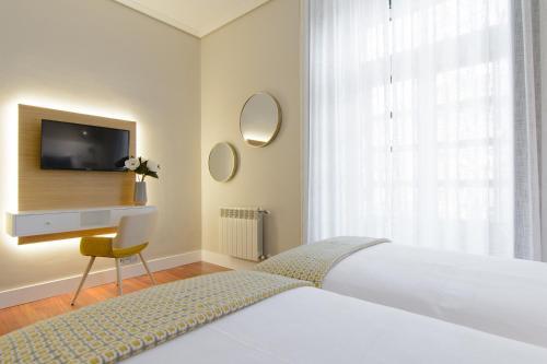 Habitación Doble Superior - 2 camas Pazo de Mendoza 2