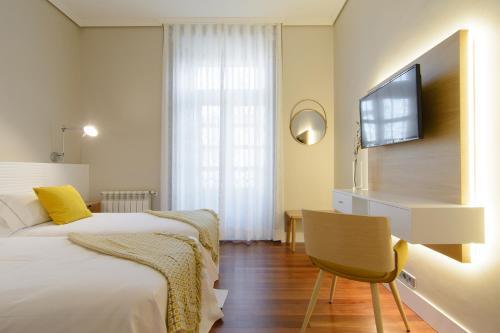 Habitación Doble Estándar - 2 camas  Pazo de Mendoza 11
