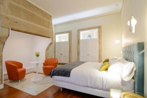 Habitación Doble Superior con cama grande Pazo de Mendoza 15