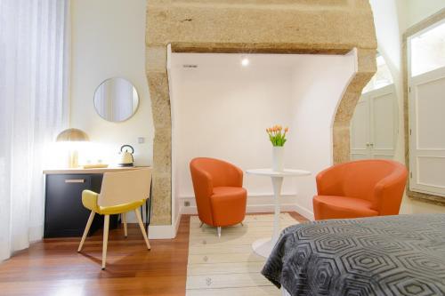 Habitación Doble Superior con cama grande Pazo de Mendoza 16