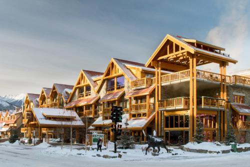 Moose Hotel and Suites - Banff, AB T1L 1H8