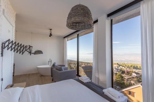 Junior Suite mit Stadtblick El Balcon de las Nieves 1