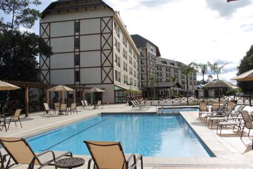 Flat em um Eco Resort
