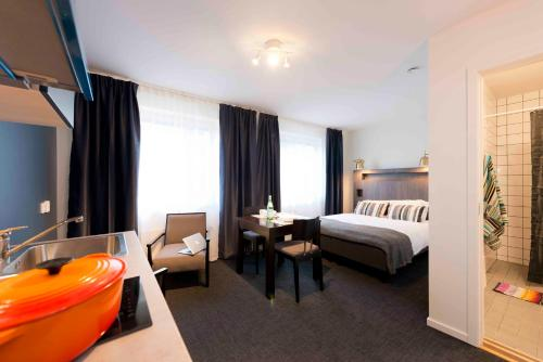 Stockholm Hotel Apartments Bromma impression