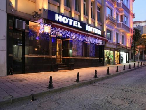 Istanbul Hotel Inter Istanbul harita