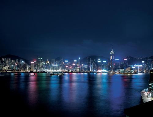 Kowloon Shangri-La Номер Делюкс с кроватью размера